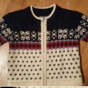 Lands' End wool sweater sz.18 mos.